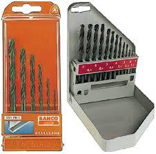 Sets of drills Bahco 451-PB-1, 451-MB-1