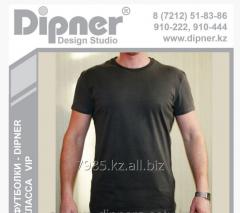 Dipner-VIP t-shirt under drawing a log