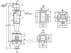 Циклон типа ЦН-15-500х1УП