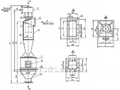 Циклон ЦН-15-600х4УП