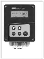 Indicator JUMO AQUIS 500 RS device Type: 20.2569