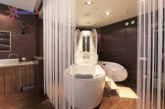 Спа-капсулы и гидромассажные ванны компании NeoQi