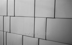 Панели фасадные плоские Вариант 3
