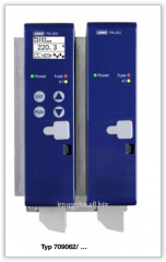 Three-phase thyristor regulator of power of JUMO