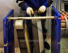 Чистка и обслуживание спиральных теплообменников