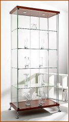 Show-windows - cases, glass cases show-windows