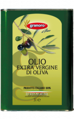 Olive oil of cold extraction Olio extravergine di