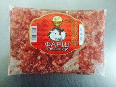 Forcemeat, 400 gr., beef, in package