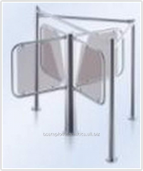The pass shaper for a rotor turnstile of