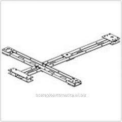 Frame assembly for rotor turnstiles of the