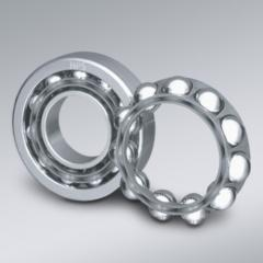 Ball-bearings are radial-stop