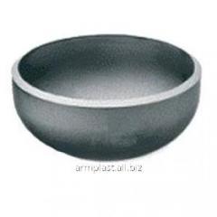 Caps are elliptic welded