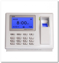 Monitoring system and accounting of working hours