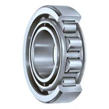 Bearings are two-row, roller, radial with short