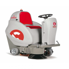 Sweeper-collector of Comac CS60 B II