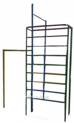 Horizontal bar three-level and stenk