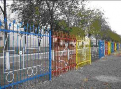 Fence fencing element for kindergarten