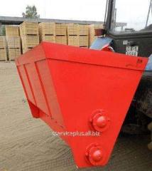Kovsh-peskorazbrasyvatel 1000 liters