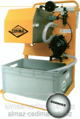 Separator of concrete CB5 slime - PASS