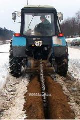 Excavator chain universal (Shchelerez)