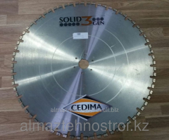 Disk DM of 800 mm, diamond for a wall saw