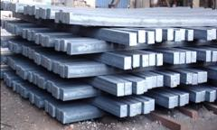 Continuous and cast steel preparation of square