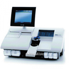 Analyzers of gases of blood of the series abl800