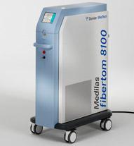 Laser Medilas Fibertom 8100 system