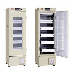 The equipment medical for storage of blood,
