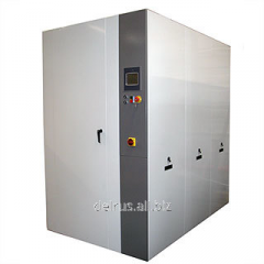 Installation for disinfecting of medical waste,
