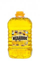 Cold pressed sunflower oil (in 5L bottle)