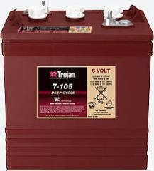 Battery accumulator 6V TE35-GEL Trojan