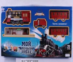 Железная дорога joy toy 370см