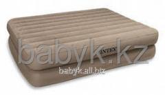 Флокированный матрас Intex 66710 Ultra plush bed +