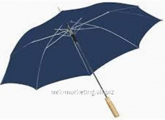 Automatic promo umbrella 23''. Polyester