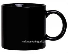 Mug ceramic black M6146020