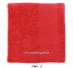Towel Red 50х100 100% cotton 89000145