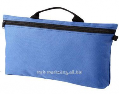 Bag for the Orlando conferences bright blue /