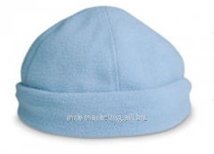 Fleece cap, 100% polyester, color blue KC642066