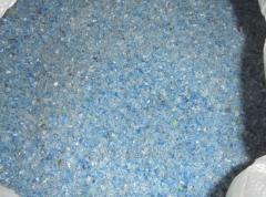 PET fleks transparent-blue