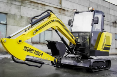 Geogid 20D mini-excavator