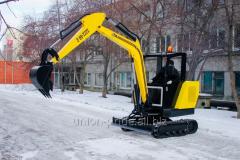 Geogid 60d mini-excavator