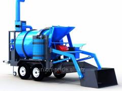 Mobile asphalt concrete plant (Retsikler)