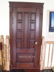 The door is classical oak