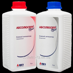"Skin antiseptic agent of ""Absolyusept of"