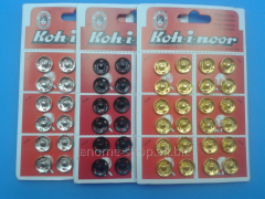 Buttons attached metal Koh-i-noor d 14 of mm