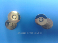 Magnetic d 18 button of mm
