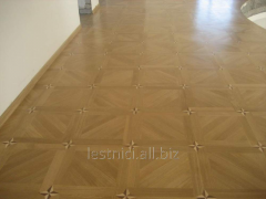Parquet art for the house