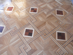 Parquet art for kitchen