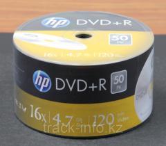 Диск DVD+R 16x  Track leader